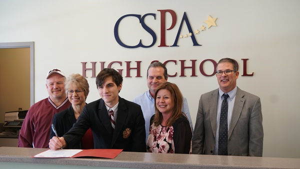 CSPA Senior Signs To Play College Soccer
