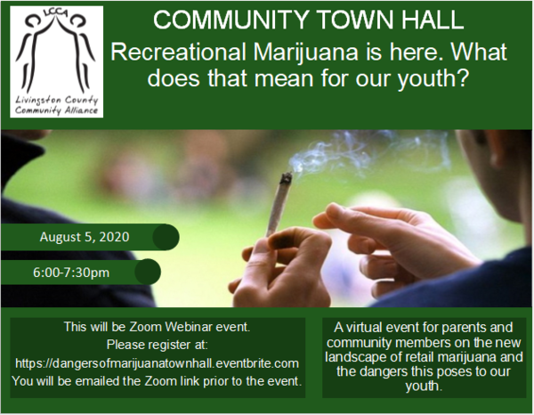 Town Hall Event To Explore Youths And Marijuana