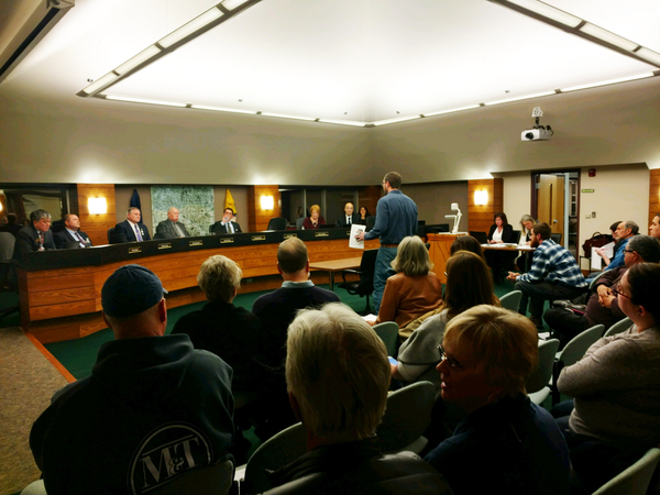 """People's Filibuster"" Plays Out At County Board Meeting"