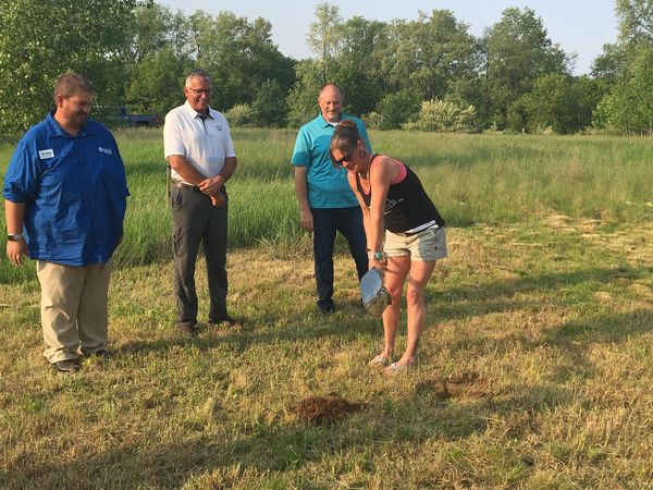 Habitat For Humanity Breaks Ground In Conway Twp.