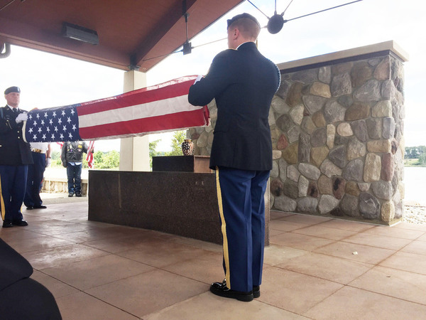 "Howell's ""Larger Than Life"" Donald Burgett Interred With Military Honors"