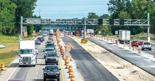 US-23 Flex Route Project Progressing, 6 Mile Road Bridge Re-Opens In Northfield Township