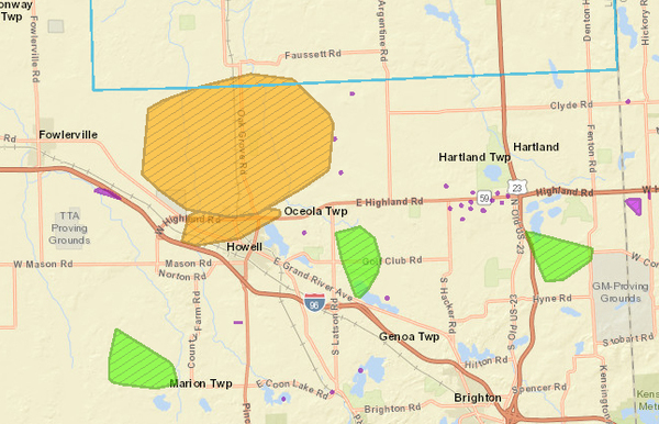 WHMI 93.5 Local News : Outages Leave Thousands Without Power ...