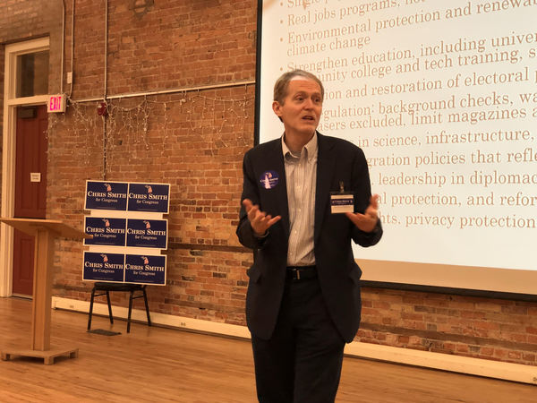 Democrat For Congress Talks Health Care, Gun Control, More At Town Hall Meeting