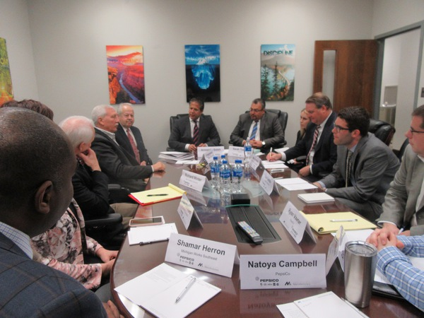 Cong. Mike Bishop in Howell Today for Roundtable with Manufacturing Leaders