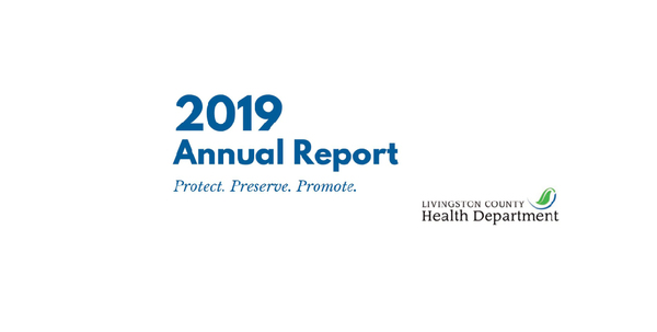 Livingston County Health Dept. Releases 2019 Annual Report