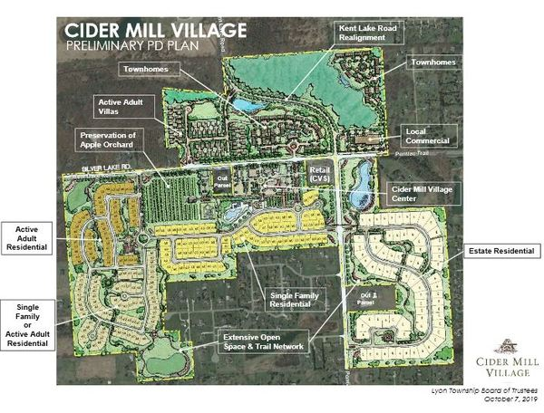 Preliminary Site Plans Denied For Proposed Cider Mill Village