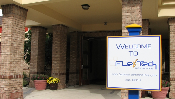 FlexTech Named Top Blended High School In State