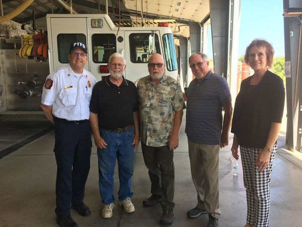 Community Celebrates Retiring Putnam Fire Chief's Many Years Of Service