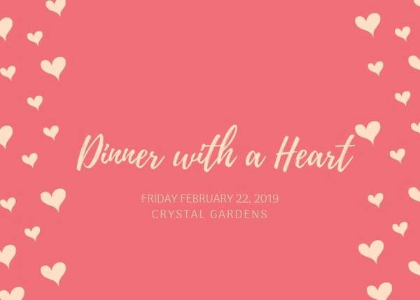 """Dinner With a Heart"" To Benefit Local Food Pantry"