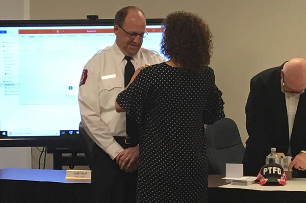 Putnam Twp. Welcomes New Fire Chief