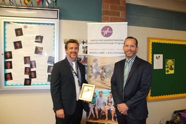 Howell High School Principal Receives 2017 Education Innovation Award