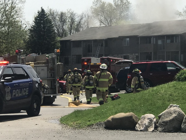 Resident Critically Injured in Brighton Condo Fire
