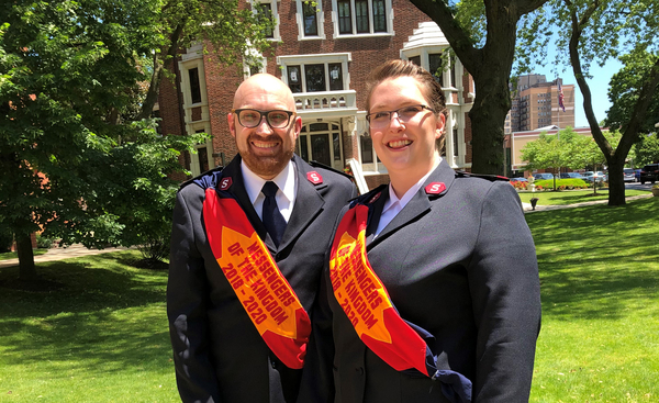 Local Salvation Army Receives New Commanding Officers