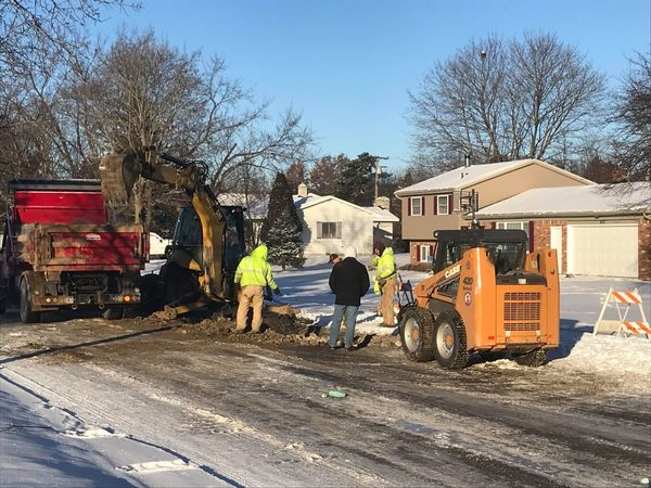 Water & Gas Service Restored To Howell Street