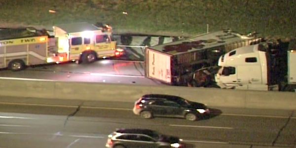 Truck Driver Killed In Crash That Closes Westbound I-96