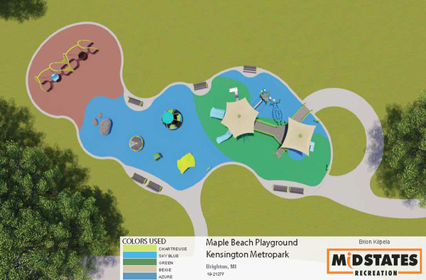 Giving Tuesday Goal Reached For Accessible Playground At Kensington Metropark