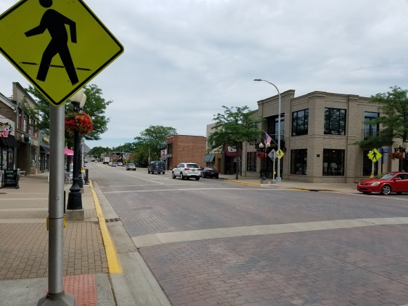 Project Moving Forward To Improve Downtown Brighton Pedestrian Safety