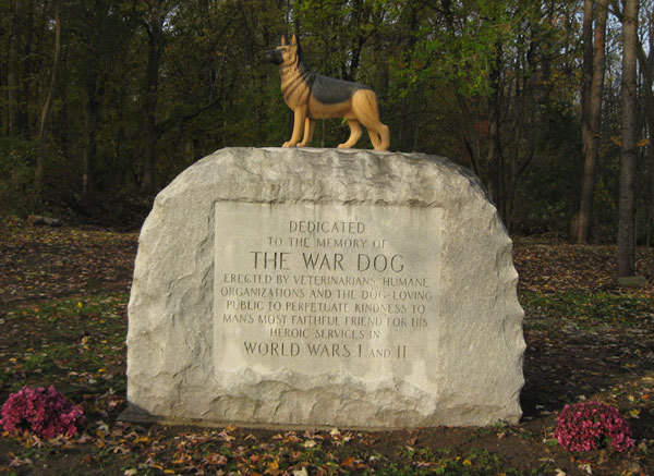 Stolen Memorabilia Leads To Tightened Security At Michigan War Dog Memorial