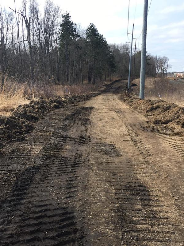 Work Underway On Trail Connector At Island Lake Rec Area