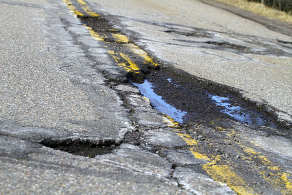 MDOT Busy Patching Potholes