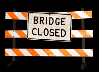 Cohoctah Road Bridge Closed