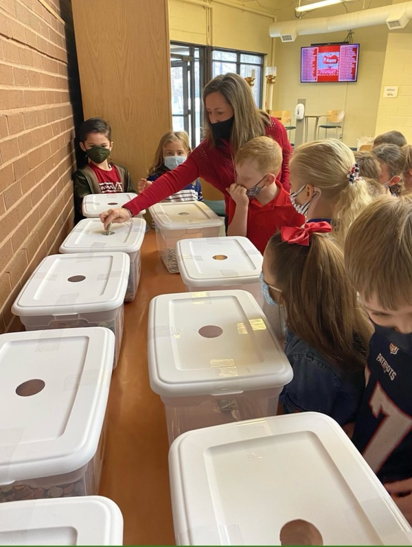 "Students Wage ""Penny Wars"" To Help Homeless"
