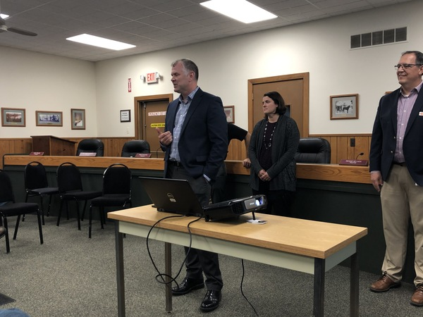 WCRC Holds Meeting On Proposed Salem Township Roundabout