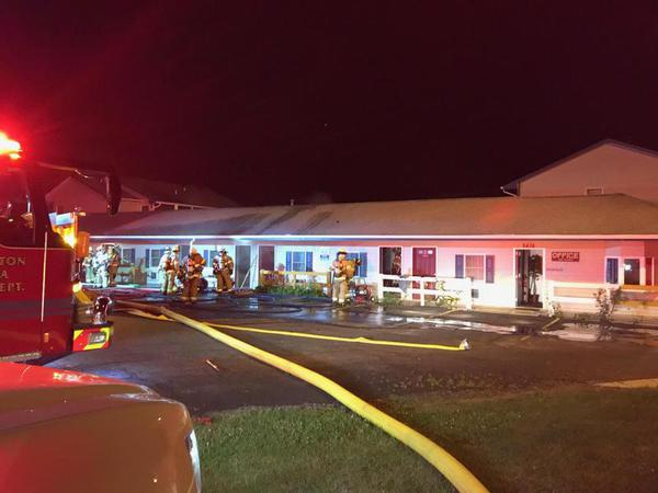 Fire Damages Grand View Inn Friday Night