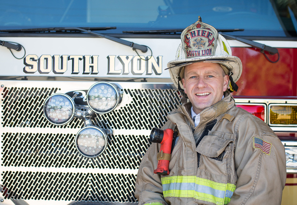 South Lyon Fire Chief Mike Kennedy Accepts New Position