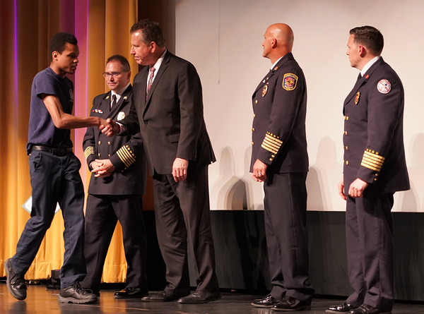 Howell Public Schools Fire Academy Graduates Its Sixth Class