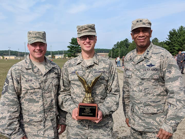 Fowlerville Native Honored As Airman Of The Year