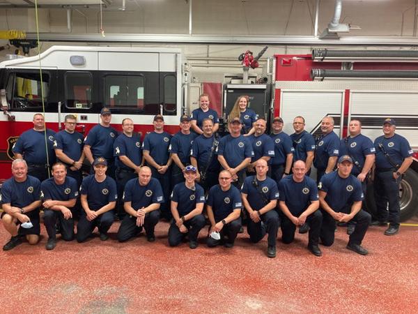 Hamburg Fire Department Unites For Suicide Prevention Month Campaign