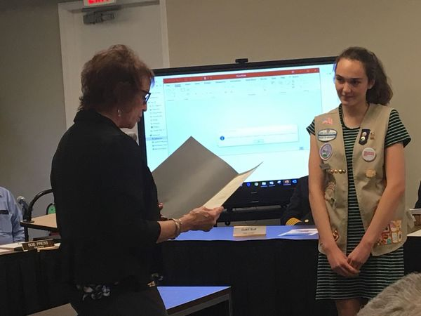 Girl Scout Gold Award Recipients Recognized For Community Work