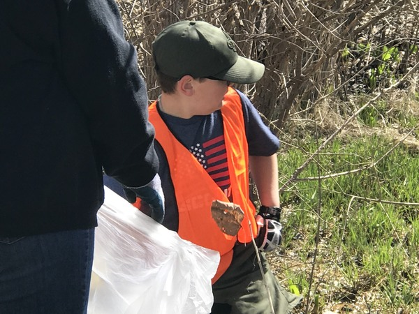 15th Annual South Lyon Creek Clean-Up Event A Success