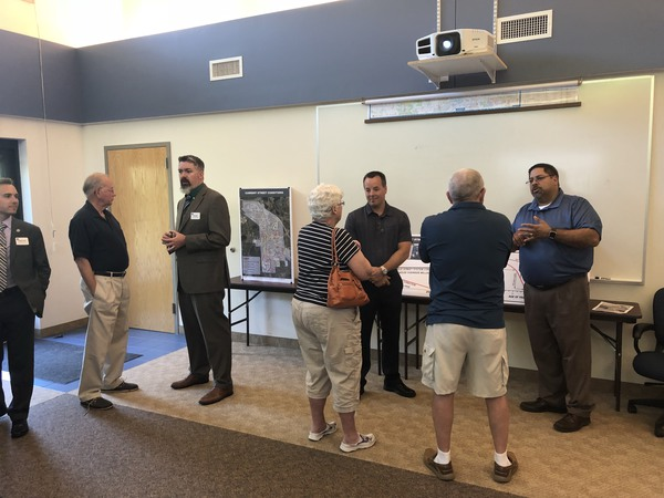 First Of Four Open Houses For Headlee Override In Brighton Held