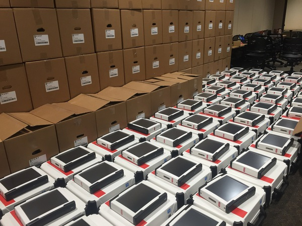 Testing Underway For County's New Voting Equipment