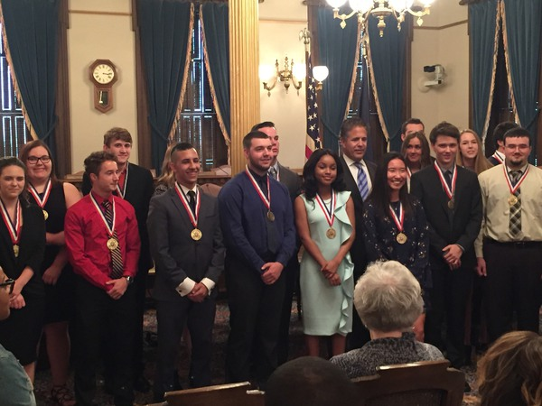 8th District Students Receive Congressional Medal of Merit