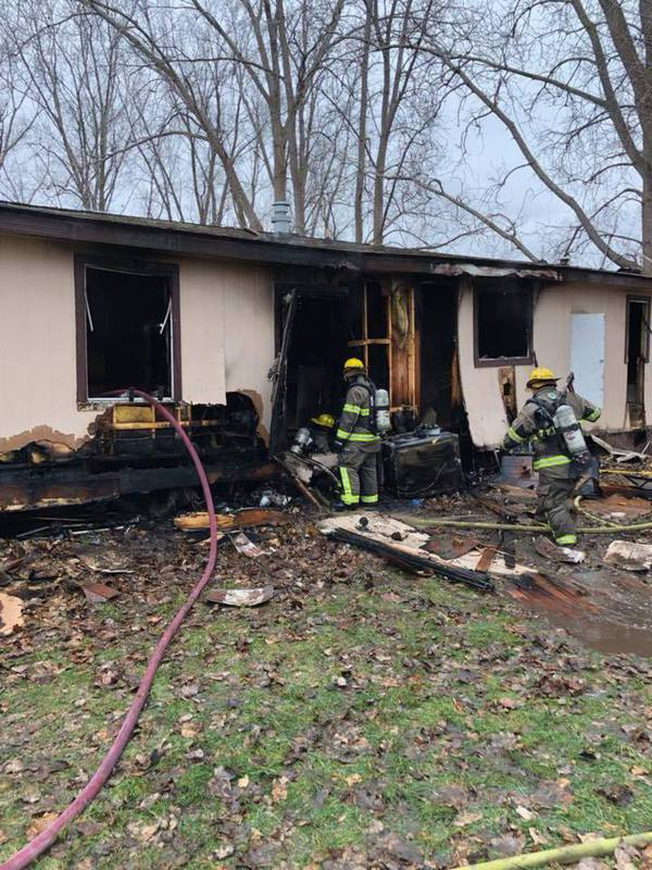 Crews Commended For Quick Response During Fire In Lyon Township