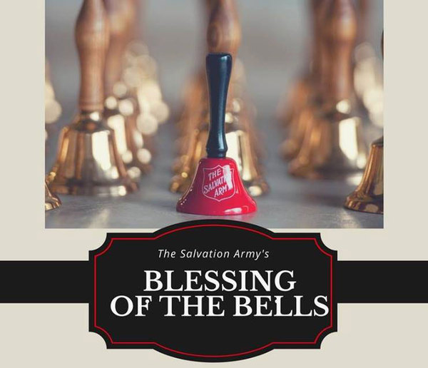 "Salvation Army To Host ""Blessing Of The Bells"" Thursday Morning"