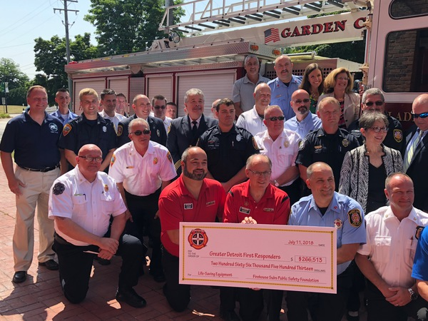 Three Local Fire Departments Awarded Life Saving Equipment Through Grants