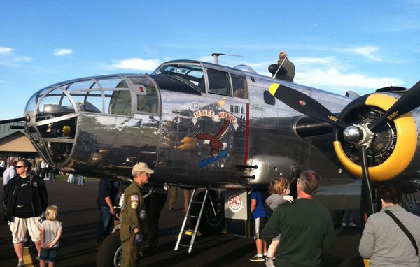 "B-25 Bomber To Be Highlighted At Yankee Air Museum ""Hangar Chat"""
