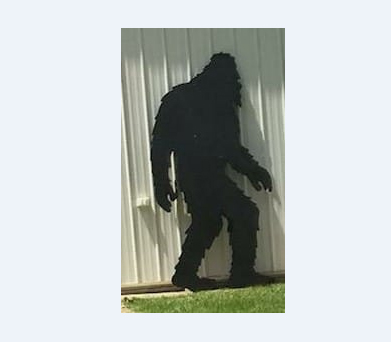 Bigfoot Cut-Out Stolen From Howell Store