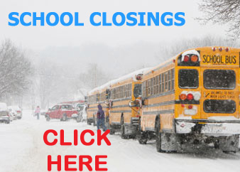 School Closings For Monday, February 5th