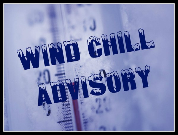 Wind Chill Advisory In Effect Until Noon