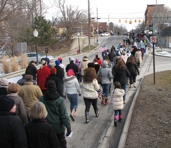 14th Annual March On Main Street Sunday In Milford