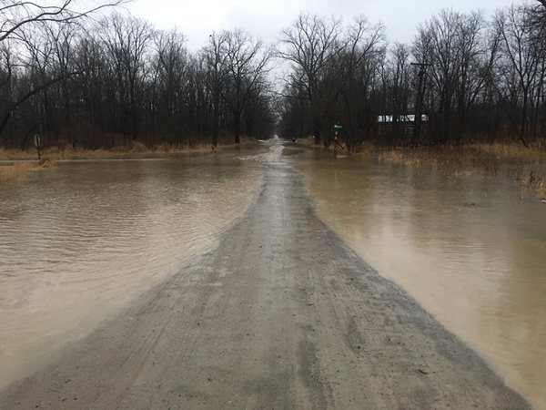 Flooding Forces Road Closures In Various Communities