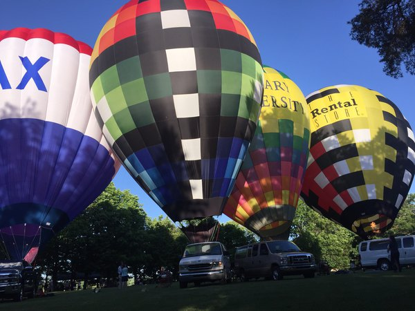 Pilots Get Fired Up At Michigan Challenge Balloonfest Preview