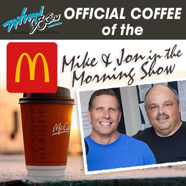 Offical Coffee of the Mike & John in the Morning Show